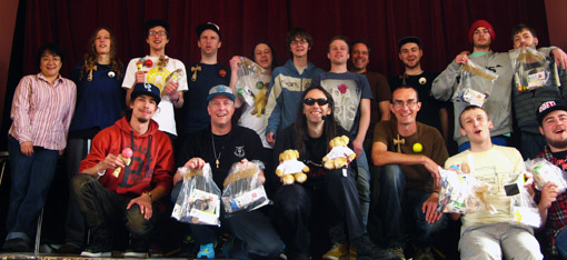 British Kendama Open crew