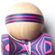 Sweets Kendamas NextGen Homegrown kendama - Fuschsia flash stripe - cushion