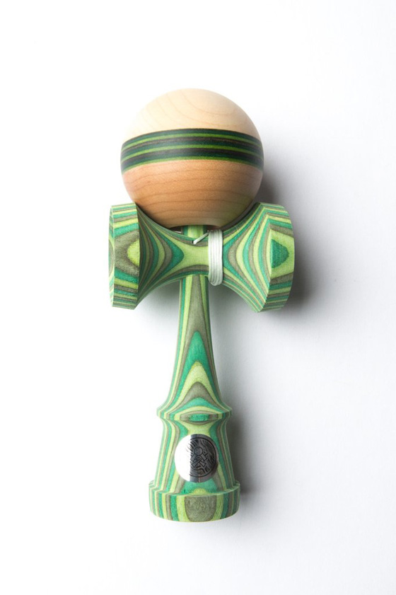Sweets Kendamas NextGen Homegrown kendama - Goblin stripe - cushion