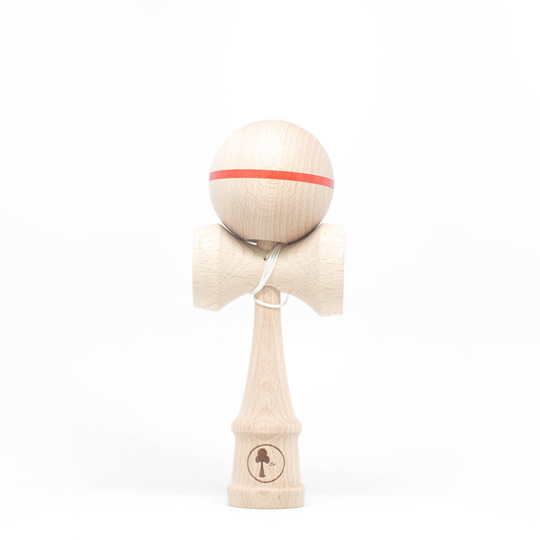 KenCo natural ZEN kendama with red tripe