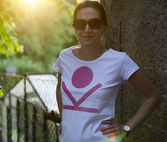 Kendama female t-shirt size M