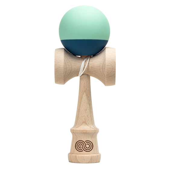 Kendama USA Kaizen 2.0 7030 mint and blue