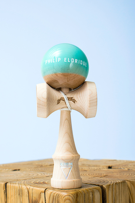 KROM kendama PRO model Philip Eldridge