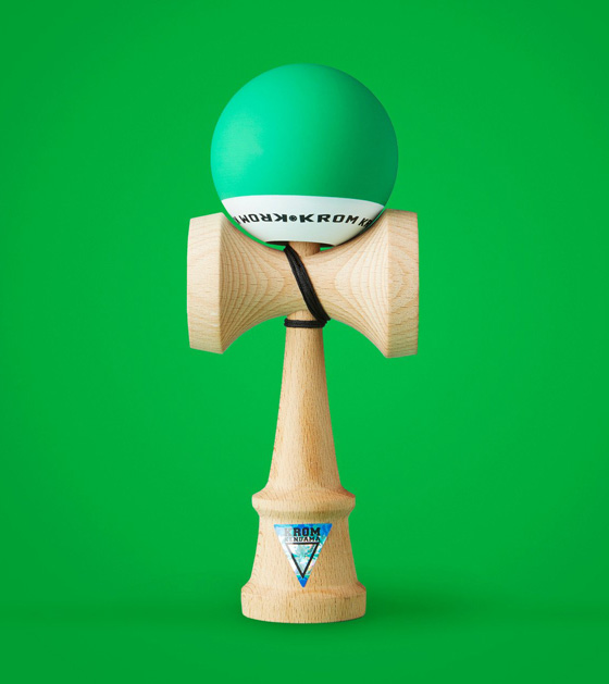 Krom POP kendama dark green