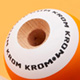 Krom POP kendama orange