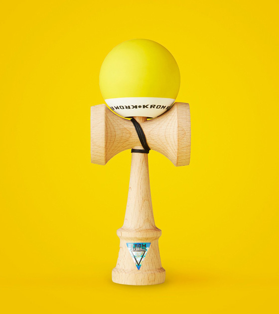 Krom POP kendama yellow