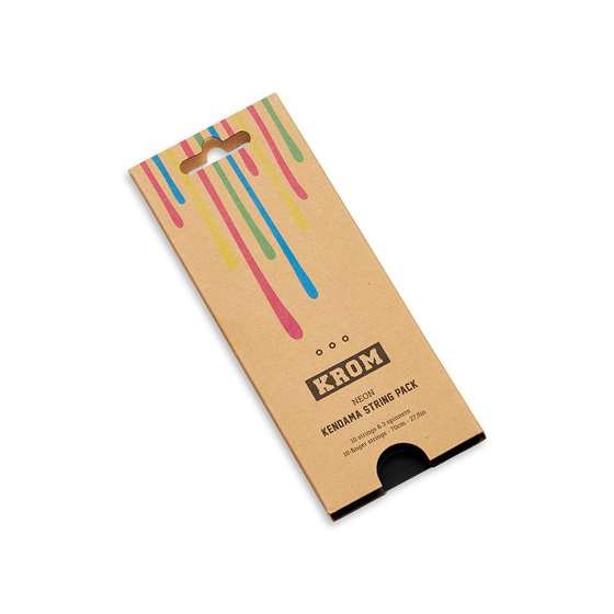 KROM kendama string pack NEON