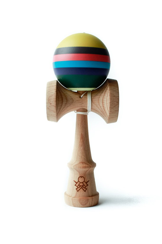 Sweets Prime kendama V15 Virginia stripe