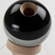 SunRise kendama - black with silver stripe