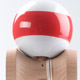 SunRise kendama - white with red stripe