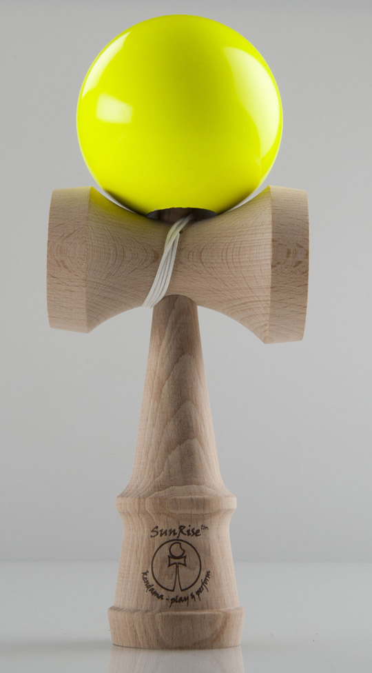 Sun Rise Performer Kendama - UV yellow