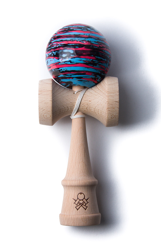 SWEETS F3 MARBLE KENDAMA BLACK, BLUE, PINK