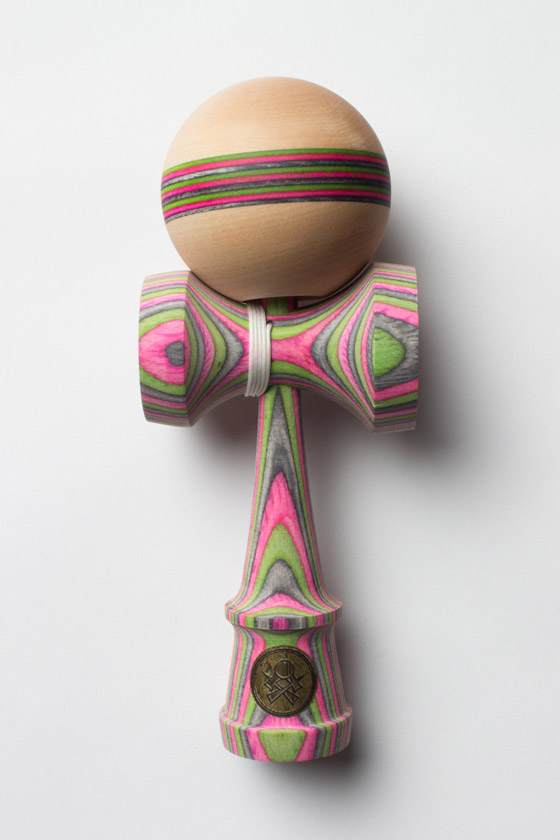 Sweets kendamas Homegrown mintberry crunch maple w spectra stripe cushion