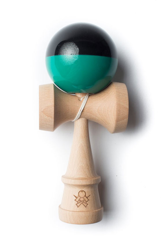 Sweets SUMO kendama black and teal