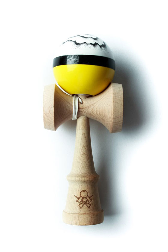 Sweets Luzumaki kendama yellow