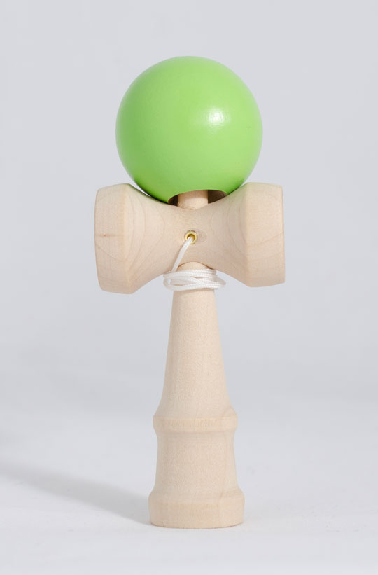 Tiger mini kendama green