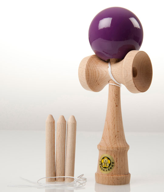 Purple Yumu 2.1 kendama
